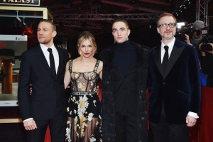 Charlie Hunnam, Sienna Miller, Robert Pattinson and James Gray The Lost City of Z Premiere held during 67th Berlinale International Film Festival 2017