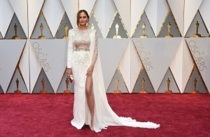 Chrissy Teigen 89th Academy Awards The Oscars 2017 Red Carpet Arrivals