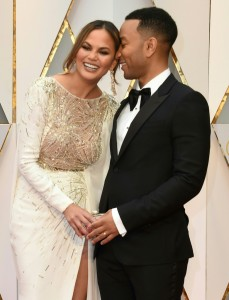 Chrissy Teigen and John Legend 89th Academy Awards The Oscars 2017 Red Carpet Arrivals
