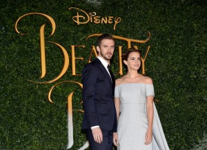 Dan Stevens and Emma Watson Disney's Beauty and the Beast UK London Launch Event Premiere