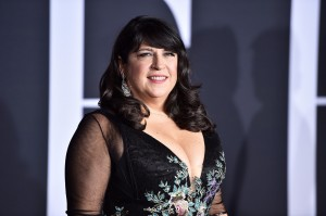E.L. James Fifty Shades Darker Los Angeles Hollywood Film Premiere Arrivals