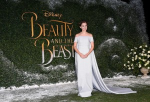 Emma Watson Disney's Beauty and the Beast UK London Launch Event Premiere