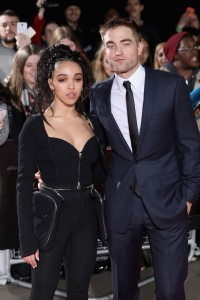 FKA Twigs and Robert Pattinson The Lost City of Z UK Film Premiere British Museum London