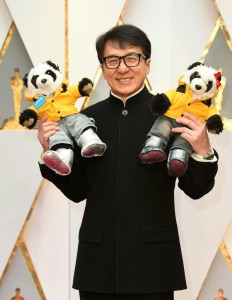 Jackie Chan 89th Academy Awards The Oscars 2017 Red Carpet Arrivals