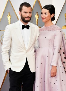 Jamie Dornan and Amelia Warner 89th Academy Awards The Oscars 2017 Red Carpet Arrivals