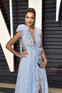 Jessica Alba 2017 Vanity Fair Oscars After Party Red Carpet