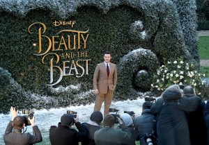 Luke Evans Disney's Beauty and the Beast UK London Launch Event Premiere