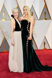 Michelle Williams & Busy Philipps 89th Academy Awards The Oscars 2017 Red Carpet Arrivals