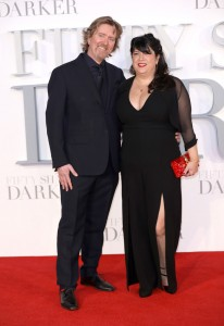Niall Leonard and E.L. James Fifty Shades Darker UK Film Premiere London Odeon Leicester Square Red Carpet Arrivals