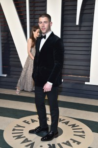 Nick Jonas 2017 Vanity Fair Oscars After Party Red Carpet