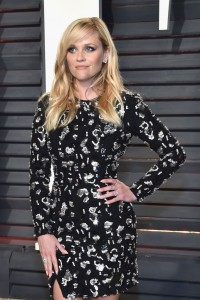 Reese Witherspoon 2017 Vanity Fair Oscars After Party Red Carpet