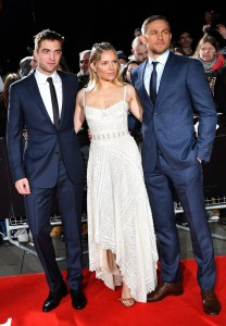Robert Pattinson, Sienna Miller and Charlie Hunnam The Lost City of Z UK Film Premiere British Museum London