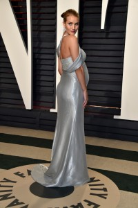 Rosie Huntington-Whiteley 2017 Vanity Fair Oscars After Party Red Carpet