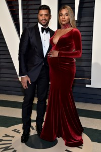 Russell Wilson and Ciara 2017 Vanity Fair Oscars After Party Red Carpet