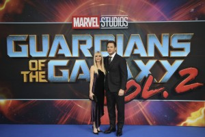Anna Faris and Chris Pratt Marvel's Guardians of the Galaxy Vol. 2 London Launch Gala Screening Premiere