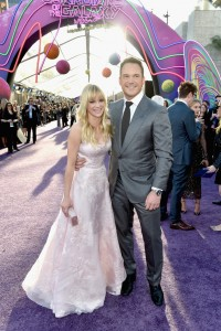 Anna Faris and Chris Pratt Marvel Disney Guardians of the Galaxy Vol. 2 Los Angeles World Premiere