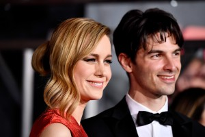 Brie Larson and Alex Greenwald Kong: Skull Island Los Angeles Premiere