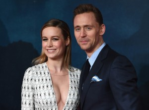 Brie Larson and Tom Hiddleston Kong: Skull Island London Premiere European