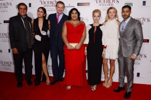 Cast and Crew of Viceroy's House London Premiere