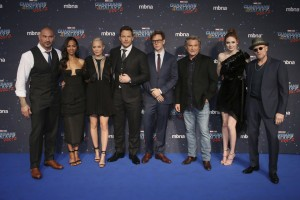 Cast and James Gunn Guardians of the Galaxy Vol. 2 London Launch Gala Screening Premiere