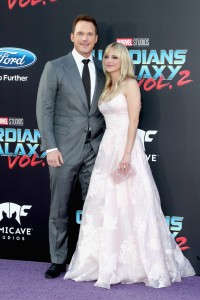 Chris Pratt and Anna Faris Marvel Disney Guardians of the Galaxy Vol. 2 Los Angeles World Premiere