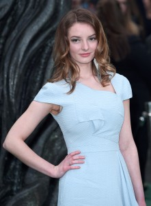 Dakota Blue Richards Alien: Covenant World Premiere London