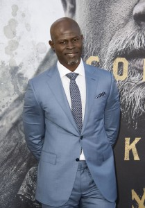 Djimon Hounsou King Arthur: Legend of the Sword Los Angeles Premiere