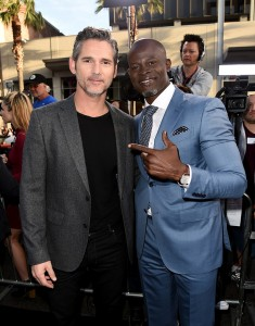 Eric Bana and Djimon Hounsou King Arthur: Legend of the Sword Los Angeles Premiere