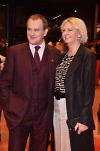Hugh Bonneville and Lulu Williams Viceroy's House Berlin International Film Festival Premiere