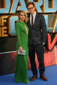 Jennifer Holland and Jams Gunn Marvel's Guardians of the Galaxy Vol. 2 London Launch Gala Screening Premiere