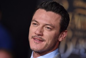 Luke Evans Disney's Beauty and the Beast World Premiere Los Angeles Hollywood