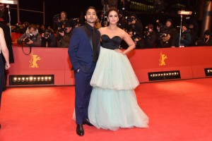 Manish Dayal and Huma Qureshi Viceroy's House Berlin International Film Festival Premiere
