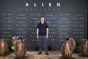 Michael Fassbender Alien: Covenant Madrid Photocall Spain Premiere