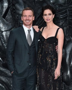 Michael Fassbender and Katherine Waterston Alien: Covenant World Premiere London