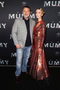 Russell Crowe and Annabelle Wallis Universal's The Mummy (2017) Australian Film Premiere Sydney