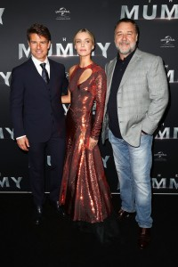 Tom Cruise, Annabelle Wallis and Russell Crowe Universal's The Mummy (2017) Australian Film Premiere Sydney