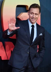 Tom Hiddleston Kong: Skull Island London Premiere European