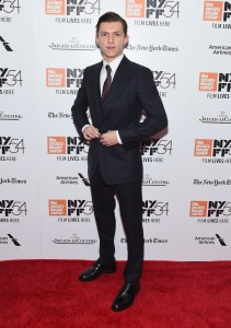 Tom Holland The Lost City of Z New York Film Festival Premiere