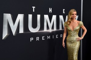 Annabelle Wallis The Mummy New York Screening Fan Event Premiere