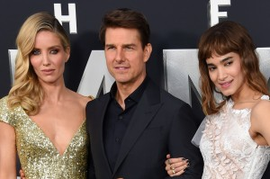 Annabelle Wallis, Tom Cruise and Sofia Boutella The Mummy New York Screening Fan Event Premiere