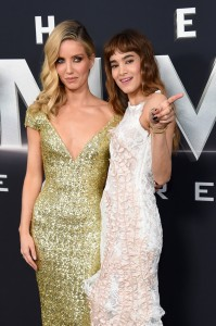 Annabelle Wallis and Sofia Boutella The Mummy New York Screening Fan Event Premiere