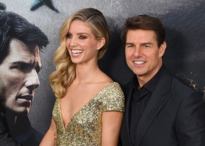 Annabelle Wallis and Tom Cruise The Mummy New York Screening Fan Event Premiere
