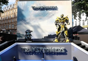 Bumble Bee Transformers: The Last Knight Global Premiere London Leicester Square
