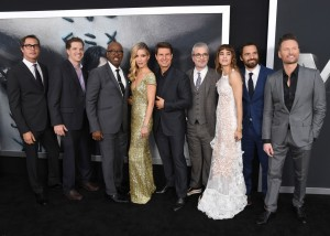Cast and Crew The Mummy New York Screening Fan Event Premiere
