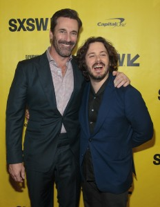 Jon Hamm and Edgar Wright Baby Driver Premiere SXSW Festival Conference