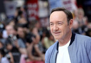 Kevin Spacey Baby Driver European Premiere Leicester Square London