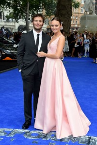 Sam Claflin and Laura Haddock Transformers: The Last Knight Global Premiere London Leicester Square