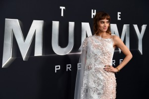 Sofia Boutella The Mummy New York Screening Fan Event Premiere