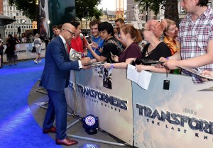 Stanley Tucci Transformers: The Last Knight Global Premiere London Leicester Square