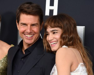 Tom Cruise and Sofia Boutella The Mummy New York Screening Fan Event Premiere